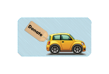 Make a charitable gift bydonating your car, truck, or RV.