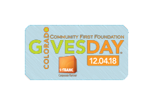 Donate now through Colorado Gives Day